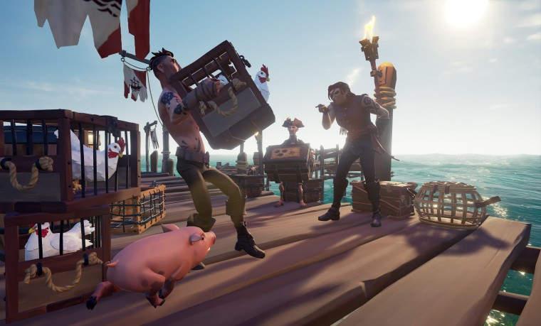 Sea of Thieves se actualiza para añadir un nuevo evento con esqueletos cargados de pólvora