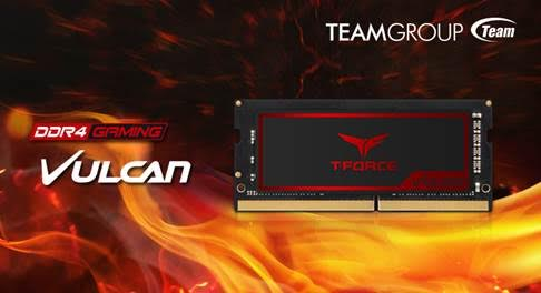Photo of Team Group T-Force Vulcan, nuevas memorias de altas prestaciones para portátiles