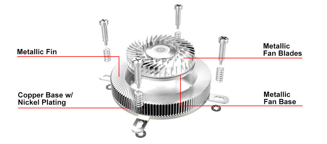Thermaltake Engine 17 1U