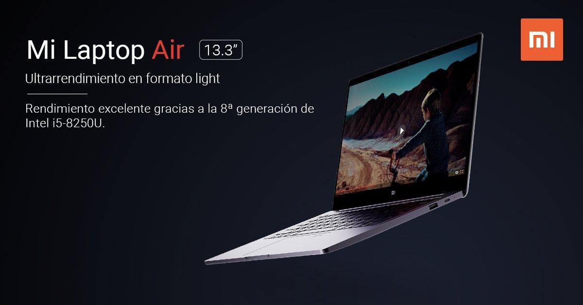 Xiaomi Mi Laptop Air de 13.3 pulgadas llega a España