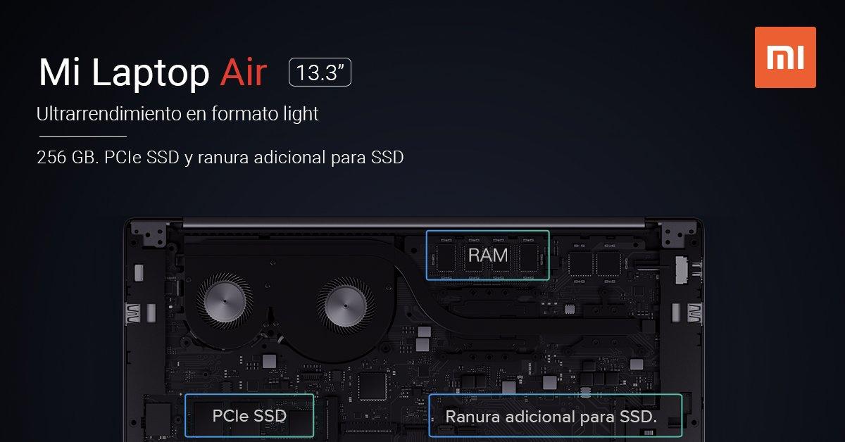 Xiaomi Mi Laptop Air de 13.3 pulgadas