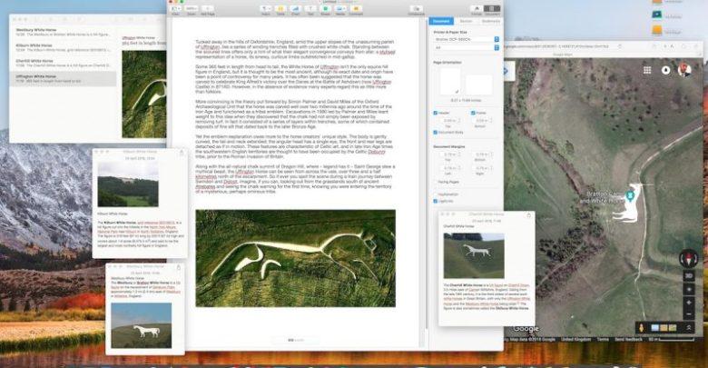 Cómo mantener Notas flotantes sobre otras apps en macOS
