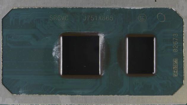 Imagen die de un procesador Intel Cannon Lake