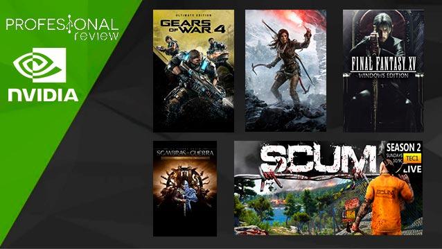 Photo of SORTEO: Pack de juegos por NVIDIA: GoW 4, Rise Of Tomb Raider, Final Fantasy XV, Scum y Sombra de guerra