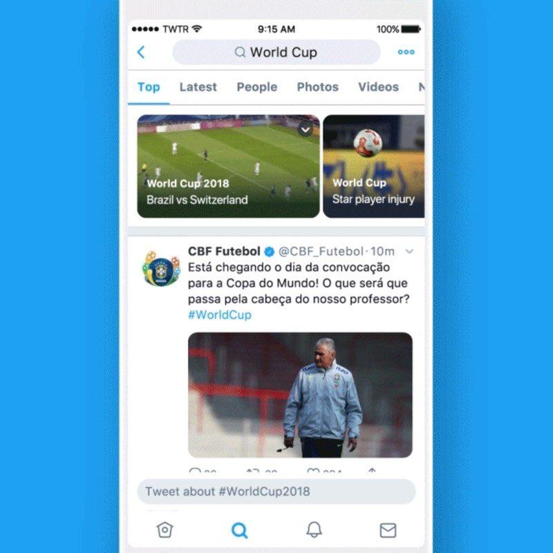 Twitter anuncia novedades en Momentos, alertas y más
