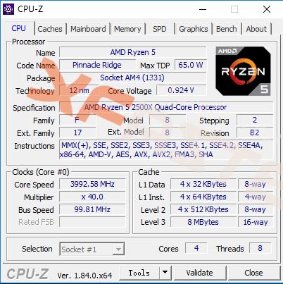 AMD Ryzen 3 2300X y Ryzen 5 2500X
