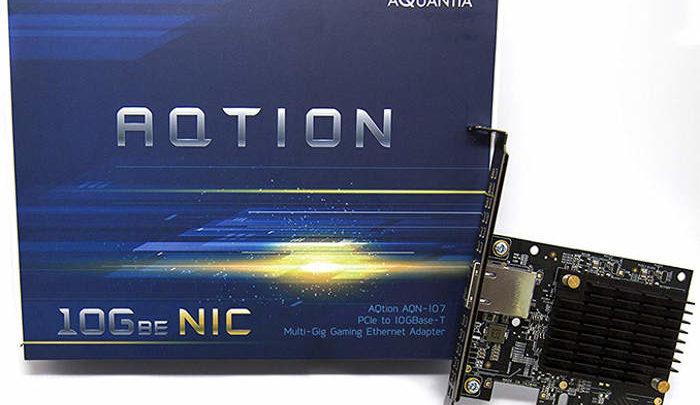 Photo of Anunciada la tarjeta de red Aquantia AQtion AQN-107 que prioriza los paquetes de los videojuegos