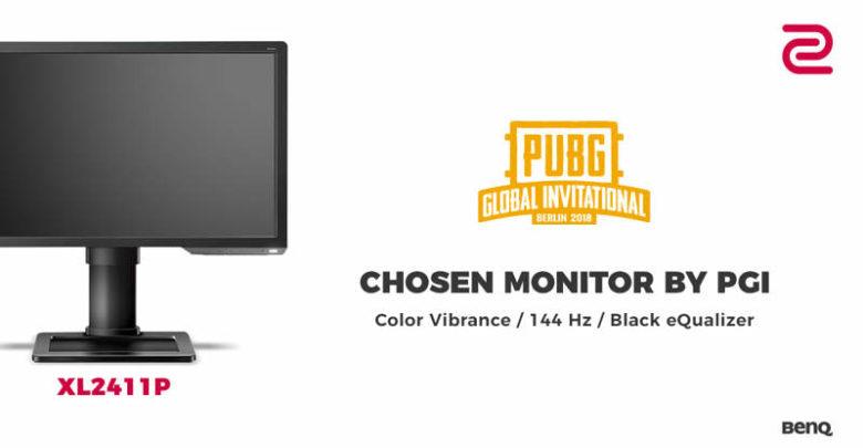 Photo of BenQ ZOWIE XL2411P es el monitor elegido para el PUBG GLOBAL INVITATIONAL 2018