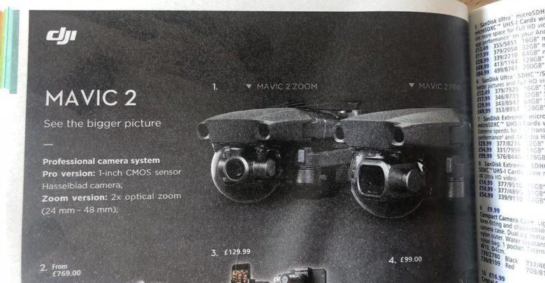 Photo of DJI lanzará dos nuevos drones: Mavic 2 Pro y Mavic 2 Zoom