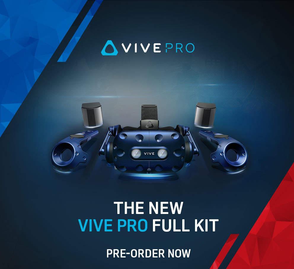 Nuevo HTC Vive Pro Kit