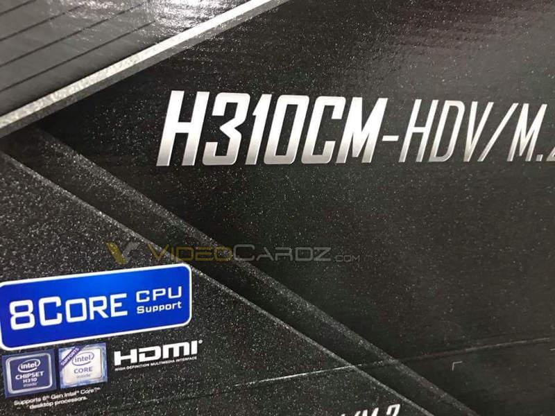 Intel Whiskey Lake es compatible con todos los chipsets de la serie Intel 300