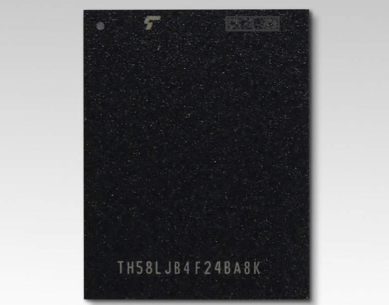 NAND BiCS QLC de 96 capas de Toshiba