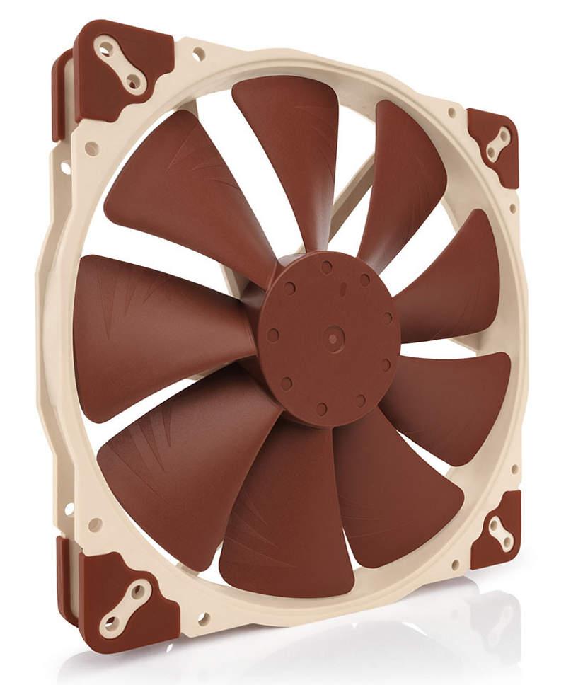 Nuevos ventiladores Noctua NF de 5V