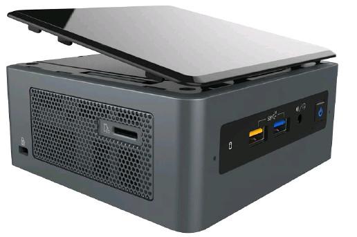 Nuevos Intel NUC con procesadores basados en Coffee Lake