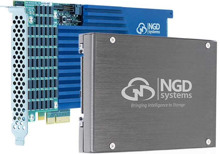 Nuevos SSD NGD Systems Catalina 2 con un FPGA integrado
