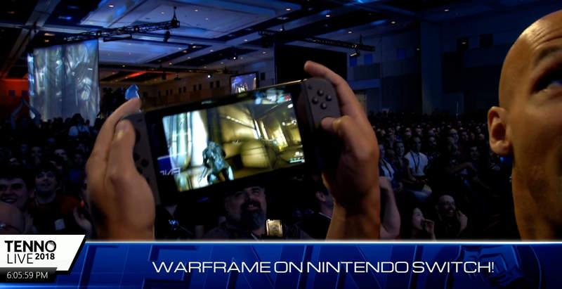 Panic Button llevará Warframe a la Nintendo Switch