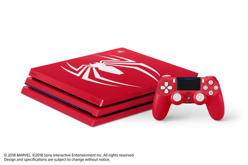 PlayStation 4 Pro se viste de rojo ante Spider Man