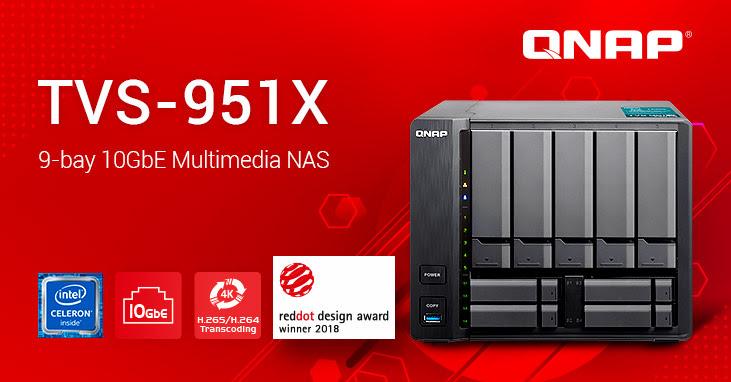 QNAP TVS-951X 10GbE