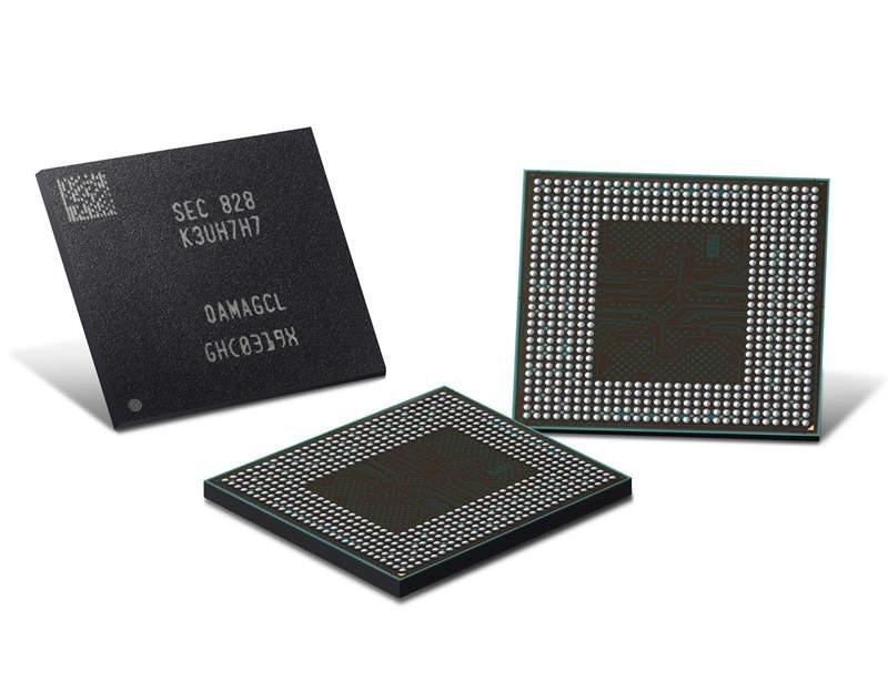 Samsung ya fabrica en masa la segunda generación de memoria LPDDR4X a 10 nanómetros