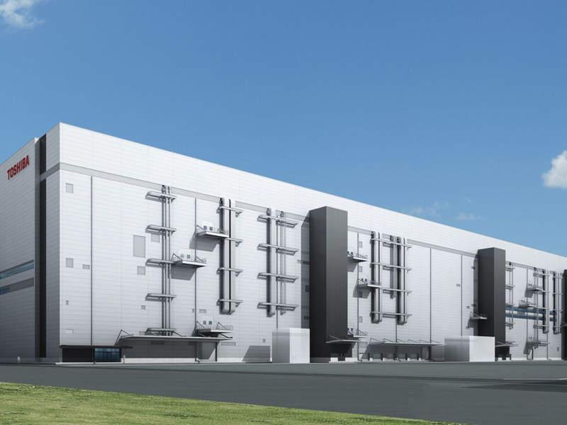 Toshiba construye la fábrica de memoria flash más grande y avanzada del mundo