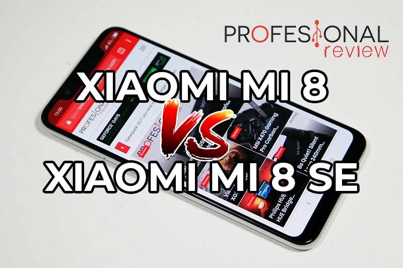 Xiaomi Mi 8 vs Xiaomi Mi 8 SE