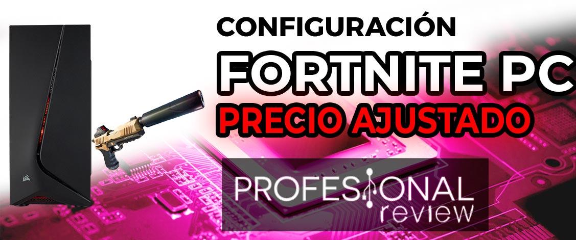 Configuracion Fortnite PC