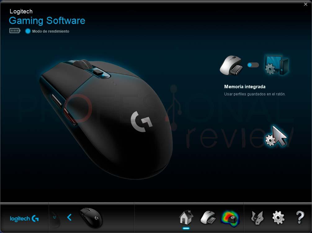 Logitech G305 software