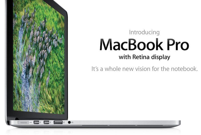 """El primer MacBook Pro con pantalla retina ya es un producto """"Vintage"""""""