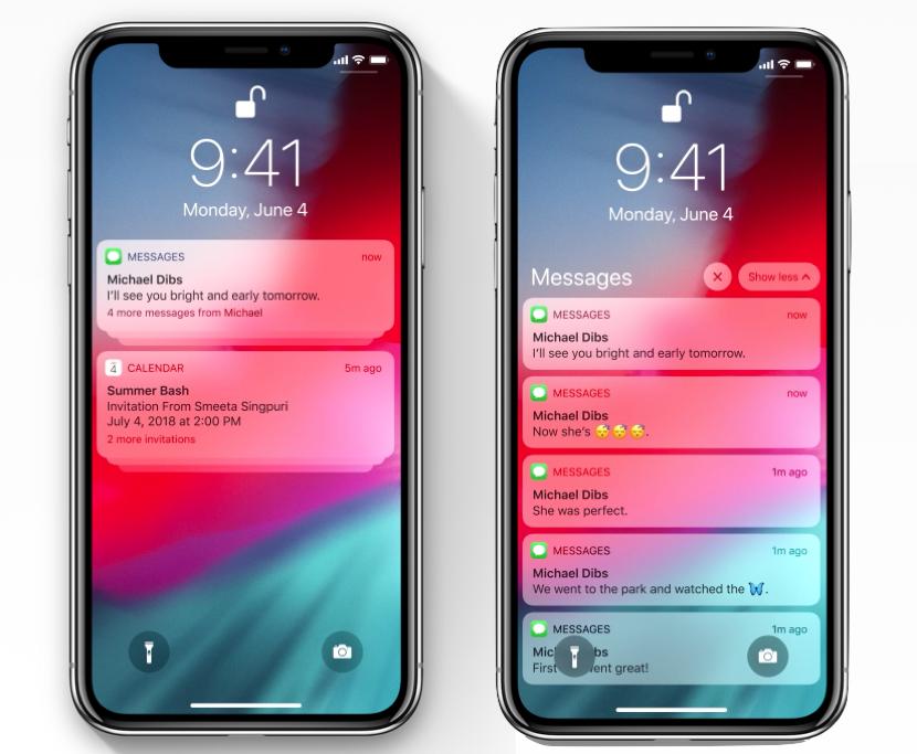Todas las novedades en las Notificaciones de iOS 12