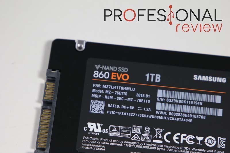Samsung 860 EVO análisis