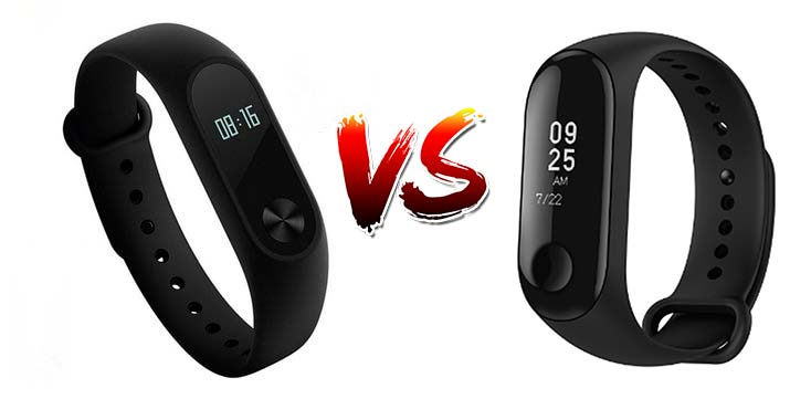 Xiaomi Mi Band 2 vs Xiaomi Mi Band 3