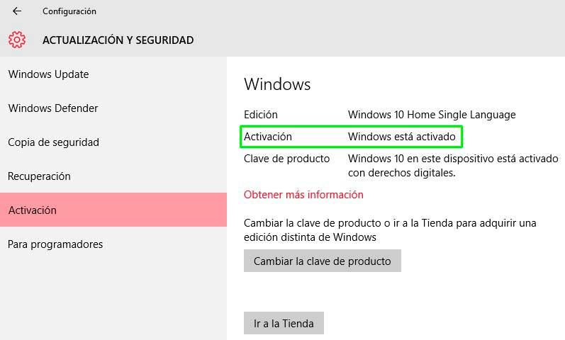 codigo de activacion de windows 10 2018
