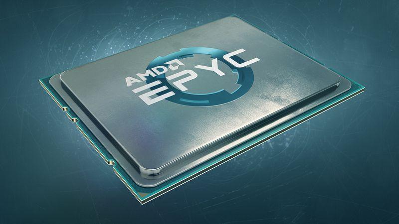 Cuota de mercado de AMD EPYC