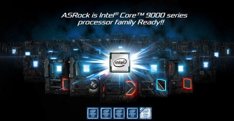 Photo of Las placas base ASRock se actualizan para soportar los CPUs Intel Core 9000