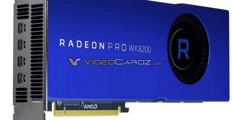 Photo of AMD anuncia oficialmente la tarjeta Radeon Pro WX 8200 por 999 dolares