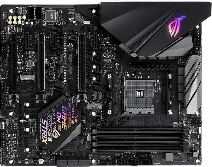Asus lanza sus placas base ROG Strix, Prime y TUF Gaming con el chipset B450