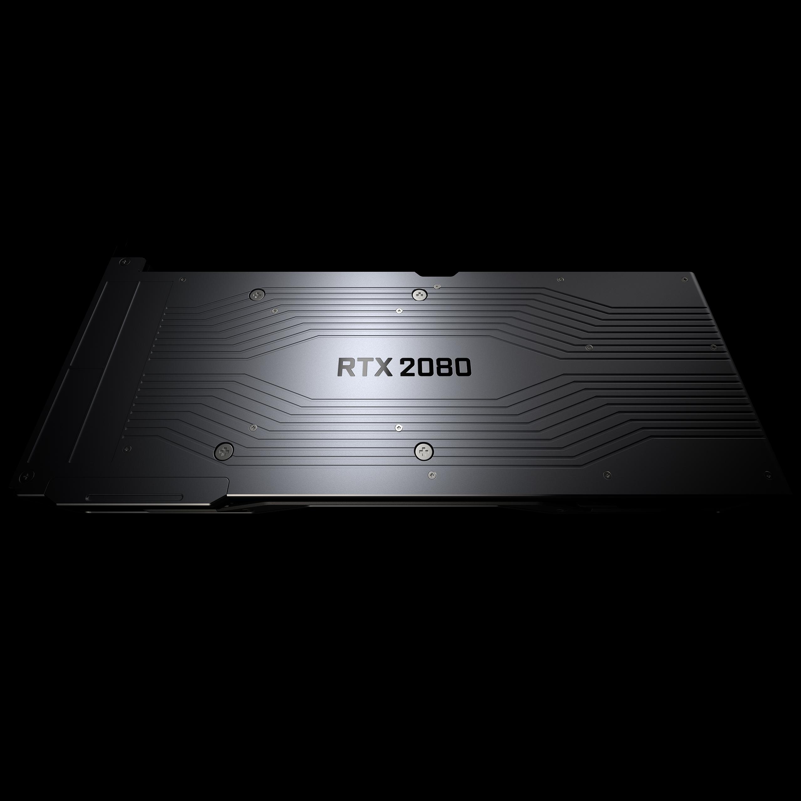 RTX 2080 backplate