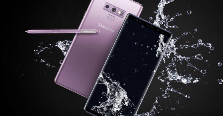Photo of El Samsung Galaxy Note 9 en color blanco ya es oficial