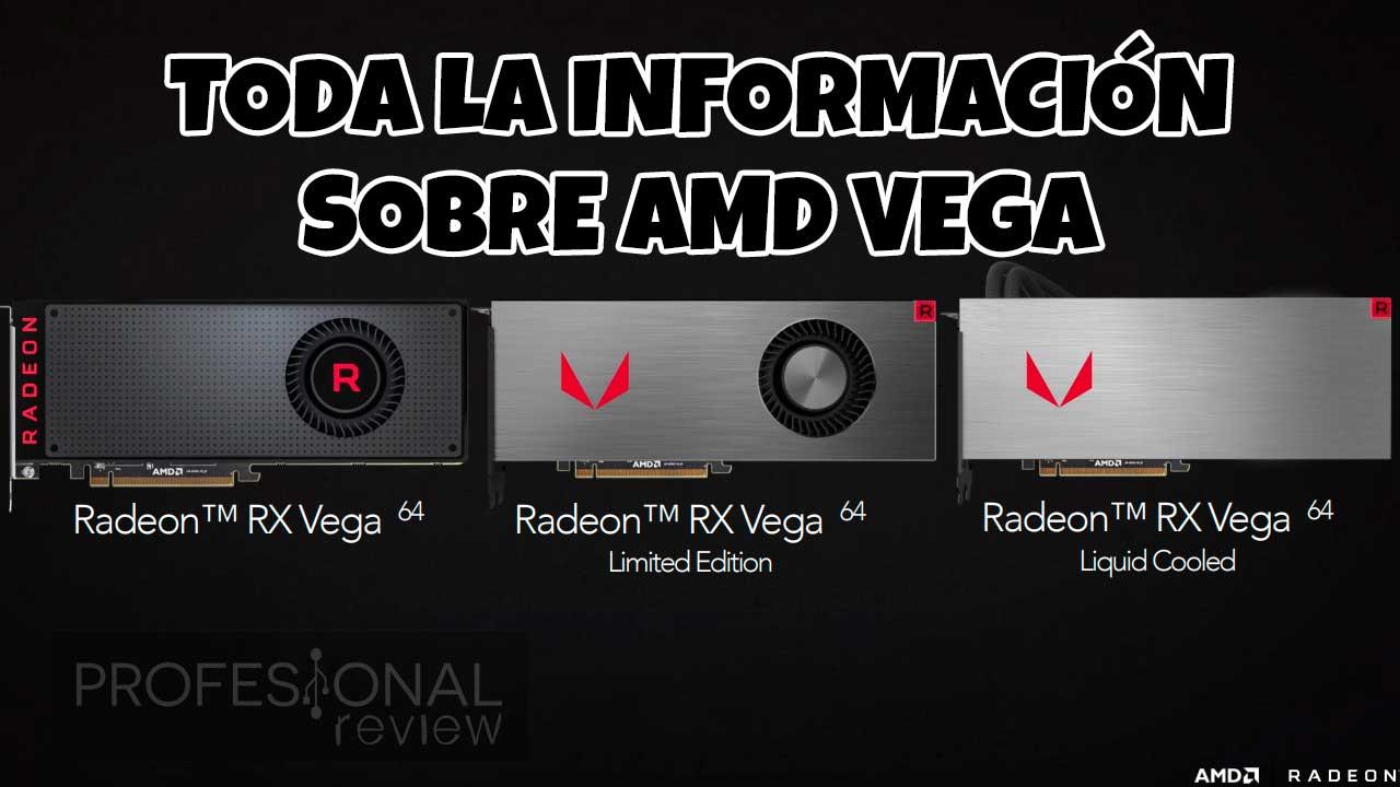 AMD VEGA TODA LA INFORMACION