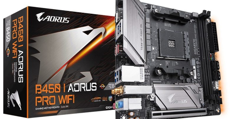 Photo of GIGABYTE lanzará pronto la placa base mini-ITX B450i Aorus Pro WiFi