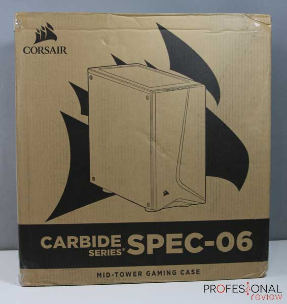 Corsair CARBIDE SPEC 06 RGB Review