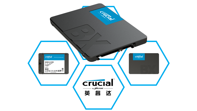 Crucial anunciará pronto su SSD BX500, misterioso sucesor