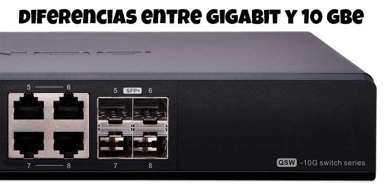 Diferencias entre una red Gigabit y 10 Gigabit