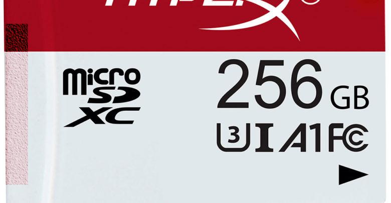 Photo of Llegan las tarjetas MicroSD HyperX para gamers, con hasta 256GB