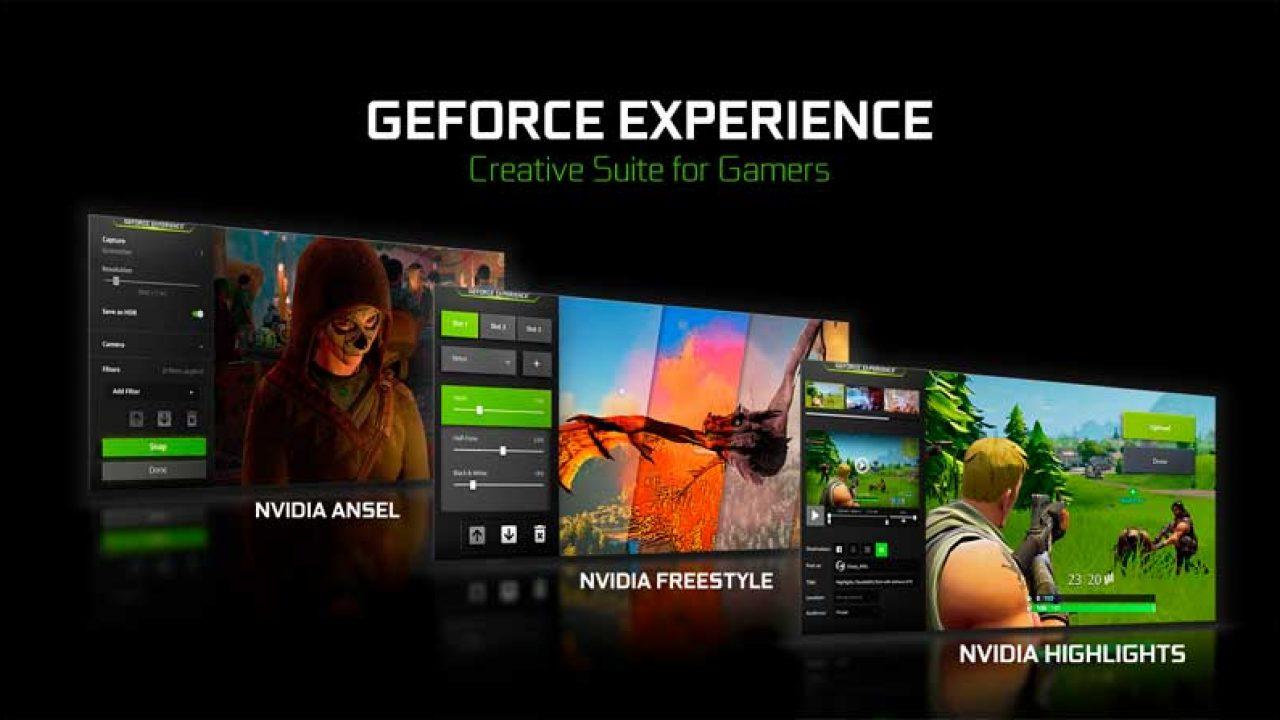 Nvidia GeForce Experience se renueva con nuevo aspecto y mejoras ...