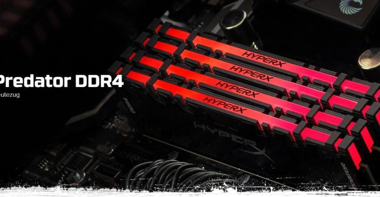Photo of HyperX Predator DDR4, nuevos kits de memoria RAM de Kingston