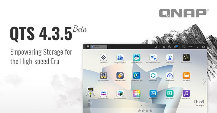 QNAP QTS 4.3.5 Beta