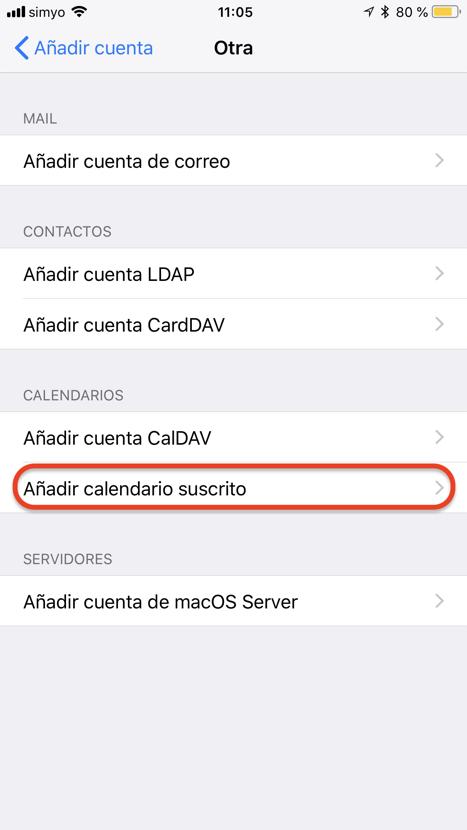 Anadir Calendario Iphone.Como Suscribirte A Calendarios En Tu Iphone O Ipad