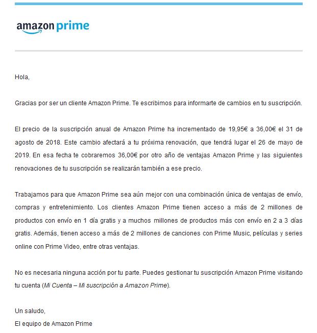 email amazon prime