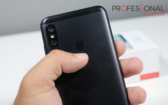 Xiaomi MI A2 Lite lector huellas